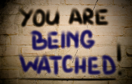 You Are Being Watched Concept photo