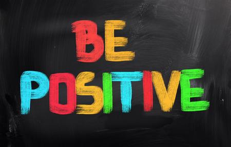 Be Positive Concept photo