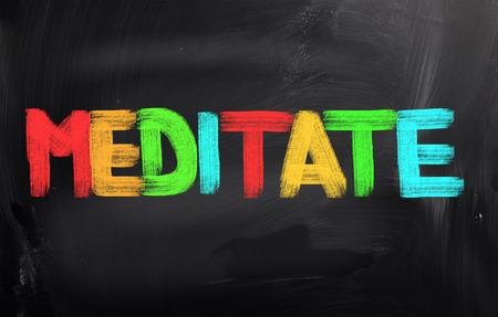 Meditate Concept photo