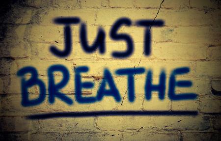 Just Breathe Concept photo