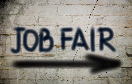 Job Fair Concept photo