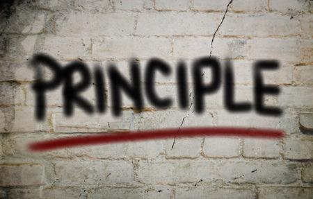 Principle Concept Reklamní fotografie