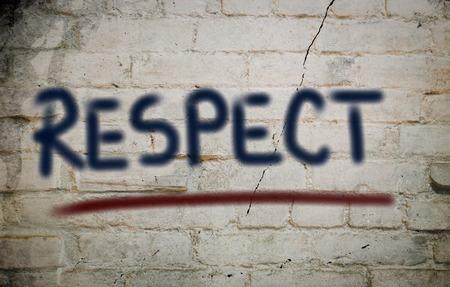 Respect Concept Reklamní fotografie