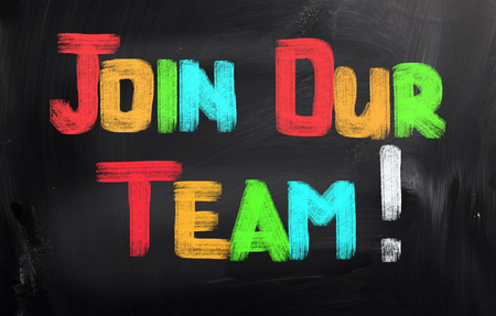 our team: Join Our Team Concept