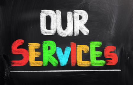 Our Services Concept Stock Photo