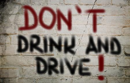 dont drink and drive: Dont Drink And Drive Concept Stock Photo
