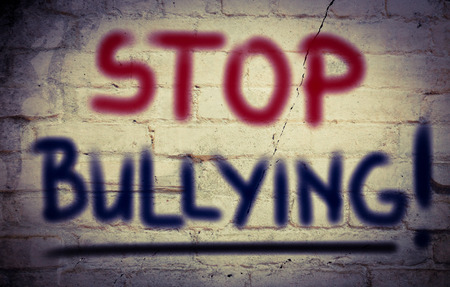 torment: Stop Bullying Concept Stock Photo