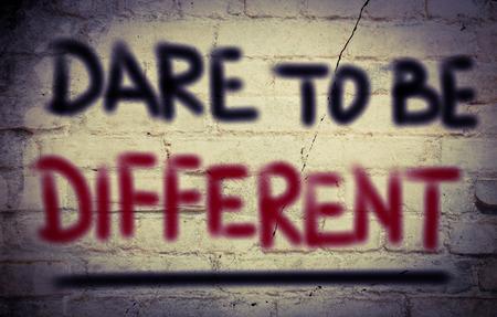 osare: Il coraggio di essere diverso concetto