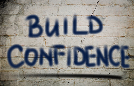 self assurance: Build Confidence Concept
