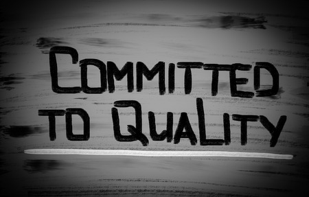committed: Committed To Quality Concept