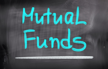 diversification: Mutual Funds Concept Stock Photo