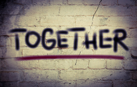 together concept: Concepto junto