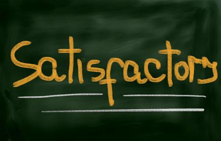 satisfactory: Satisfactory Concept