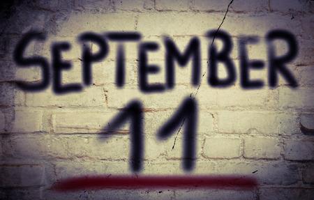 september 11: September 11 Concept Stock Photo