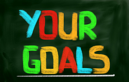 concep: Your Goals Concep Stock Photo