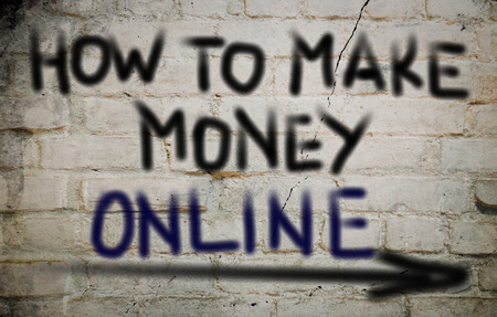 make money: How To Make Money Online Concept