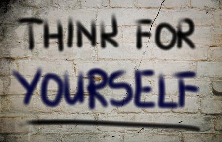 ego�sta: Piense para s� mismo Concept