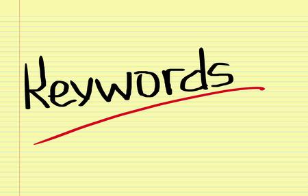 keywords link: Keywords Concept