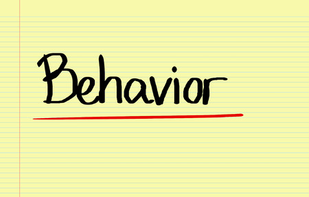 work ethic responsibilities: Behaviour Concept Stock Photo