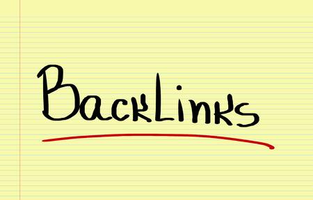 backlinks: Backlinks Concept Stock Photo