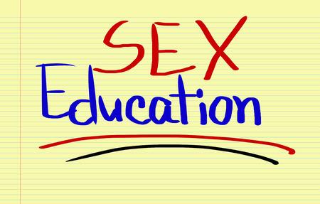sex education: Sex Education Concept Stock Photo