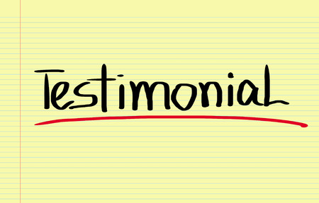 criticize: Testimonial Concept