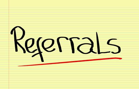 referrals: Referrals Concept