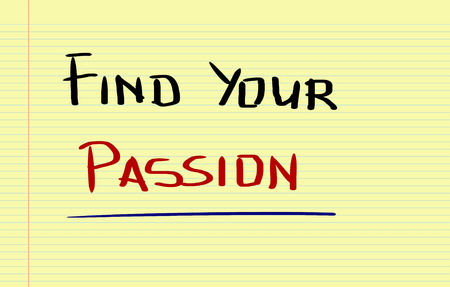 mindfulness: Passion Concept