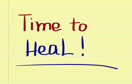 harmonize: Time To Heal Concept Stock Photo