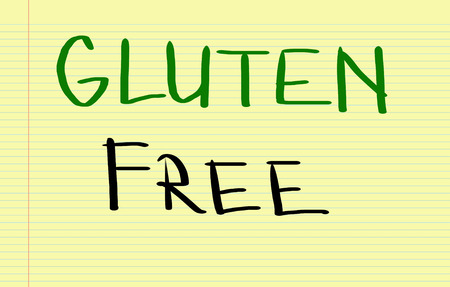 celiac: Gluten Free Concept Stock Photo