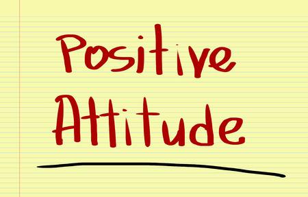 positive attitude: Positive Attitude Concept