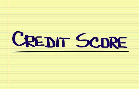 credit score: Credit Score Concept