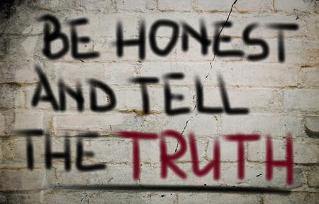 honest: Honest Concept Stock Photo