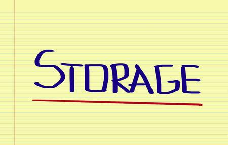 storage: Storage Concept