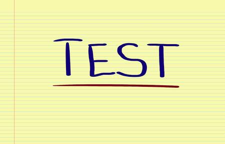 recap: Test Concept