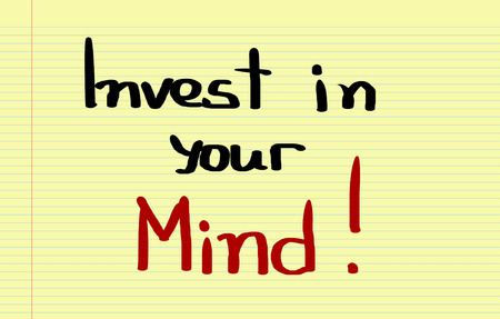 receptive: Invest In Your Mind Concept