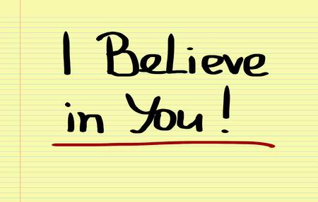 believe: I Believe In You Concept