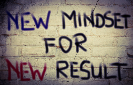 mindset: New Mindset for new result Concept