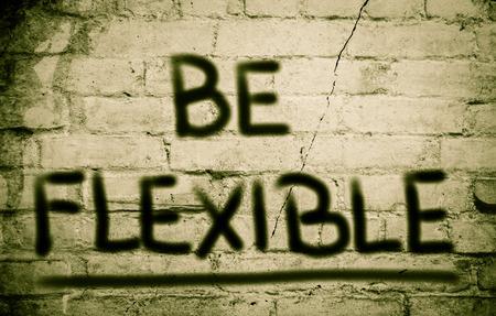 adaptable: Be Flexible Concept