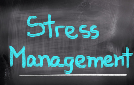 destress: Stress Menagement Concept Stock Photo