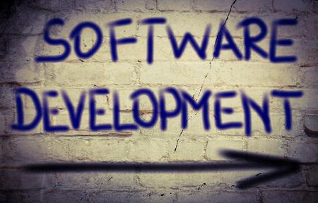 software development: Software Development Concept