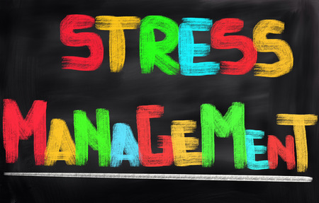 stressing: Stress Menagement Concept Stock Photo