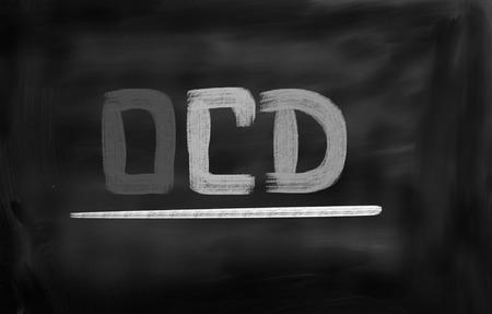 ocd: Obsessive–Compulsive Disorder Concept