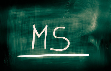 multiple: Multiple Sclerosis Concept Stock Photo