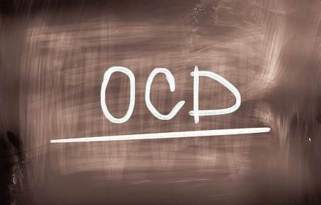 compulsive: Obsessive–Compulsive Disorder Concept