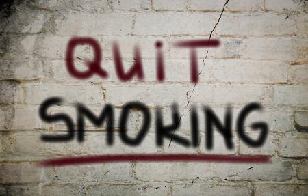 quit: Quit Smoking Concept
