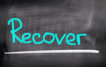 Recover Concept Stock Photo