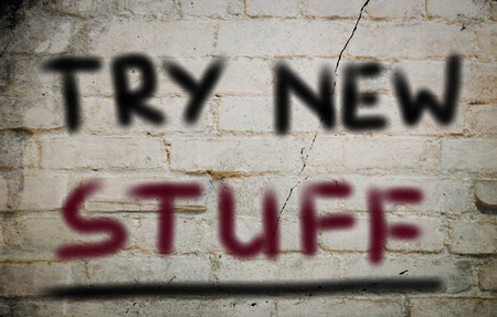 stuff: Try New Stuff Concept