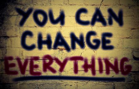 tu puedes: Usted puede cambiar todo concepto