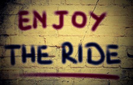 enjoyment: Enjoy The Ride Concept